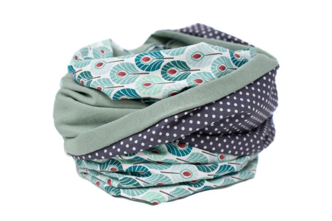 Give a new mom a beautiful nursing scarf to help her adjust to life with a newborn