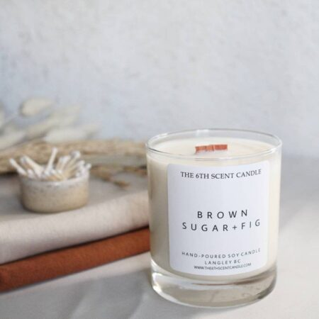 Pretty candle to give teachers