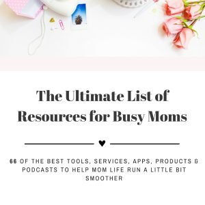 Resource Guide for Busy Moms