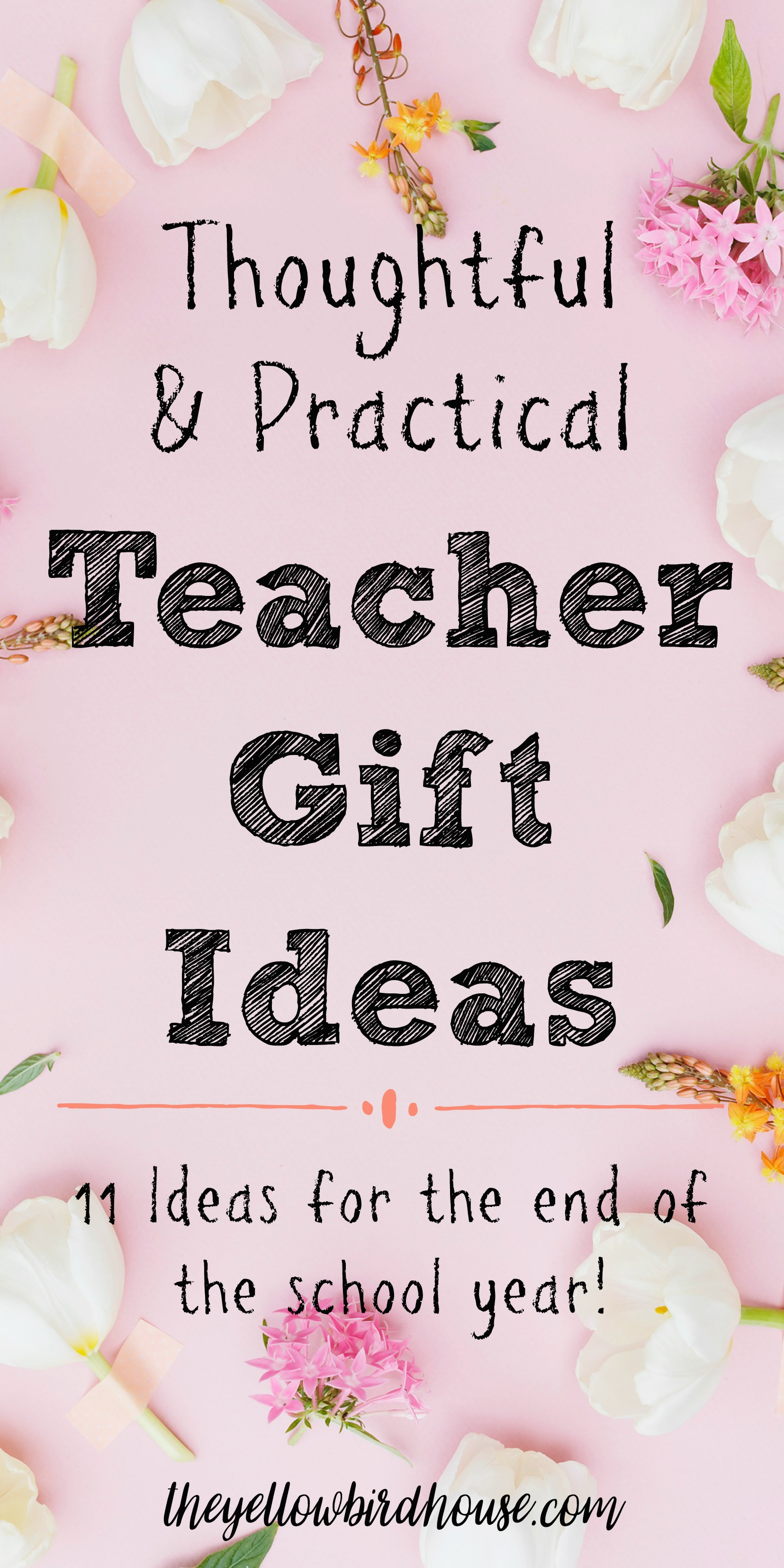 Need some ideas for end of year teacher gift ideas? Here are 11 thoughtful and practical gift ideas to show your appreciation to the teachers who work so hard. Useful gift ideas for teachers.