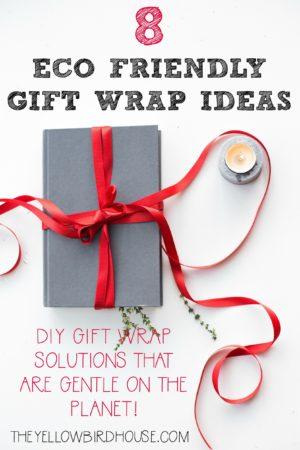 8 Eco Friendly Gift Wrap Ideas - DIY gift wrap solutions