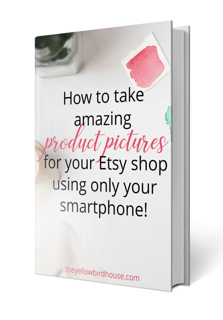 Product photography ebook, 47 pages of tips and tricks for taking amazing pictures for your Etsy shop!
