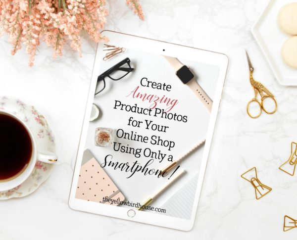 Learn how to create amazing product photos for your online shop using only your smartphone and a few clever ideas! How to rock your product photography. Product photography tips for Etsy sellers.