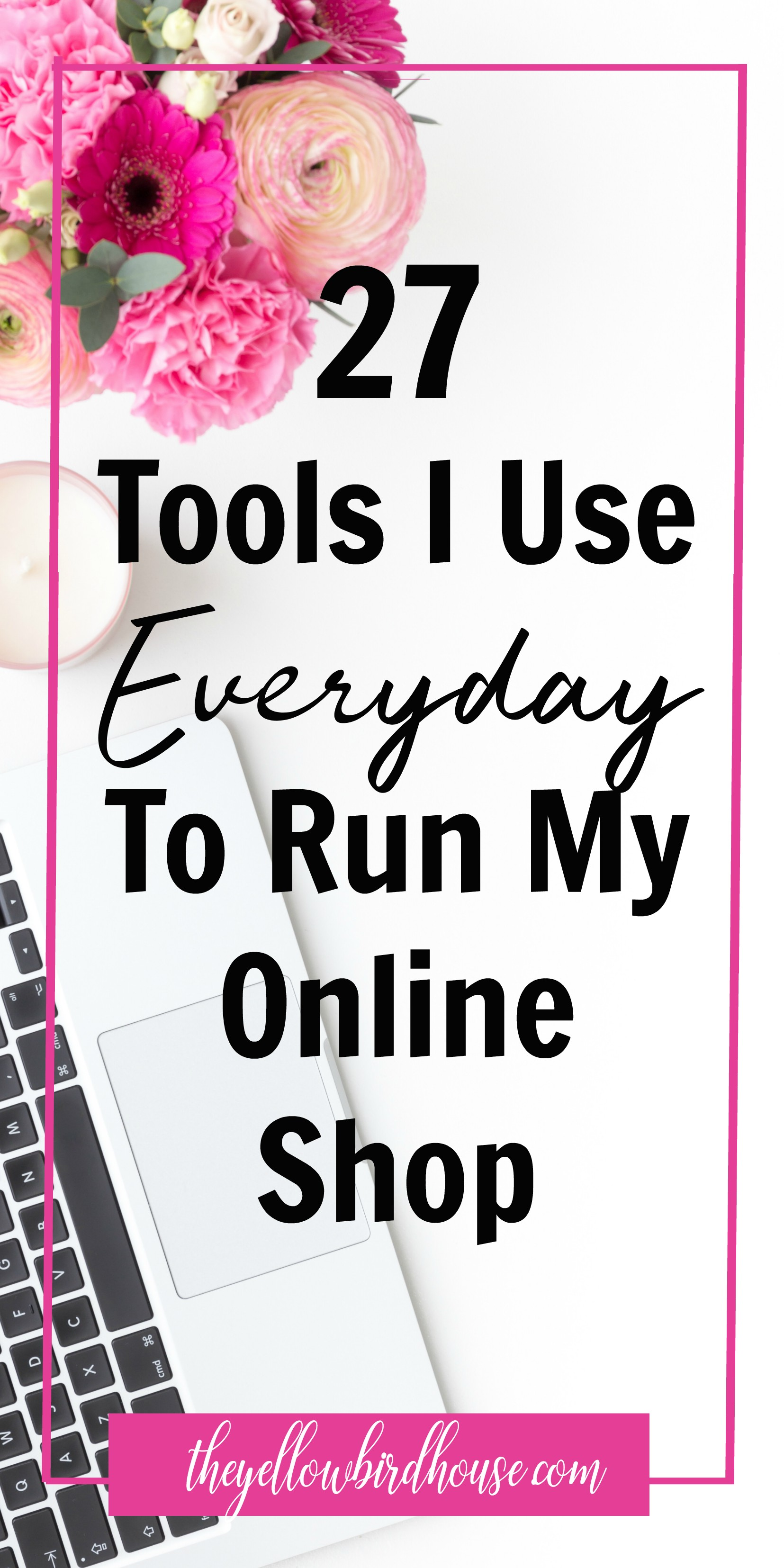 27 of the best tools and resources for running an online business. Tools for Etsy shop owners. Resources for creative entrepreneurs and shop owners. Free tools for running a small business.