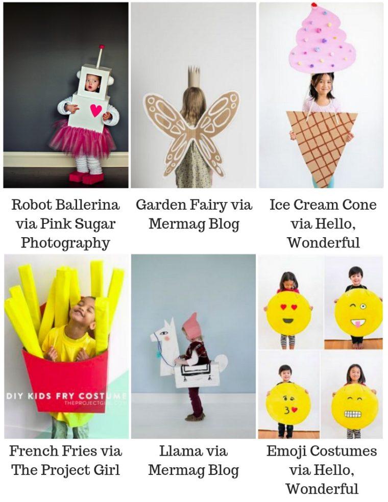 Cardboard box costume ideas for kids
