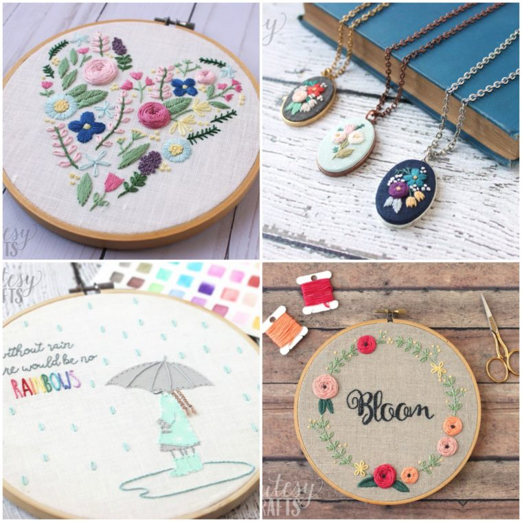 Find lots of free embroidery patterns on these websites!