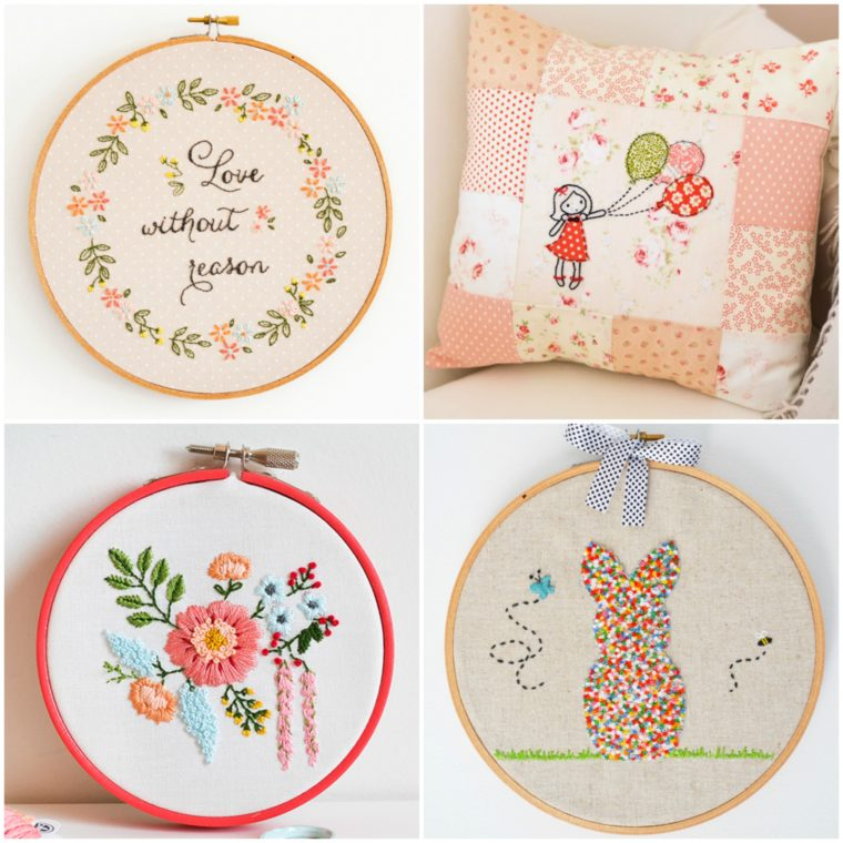 Super sweet embroidery patterns for free download. Flower embroidery patterns