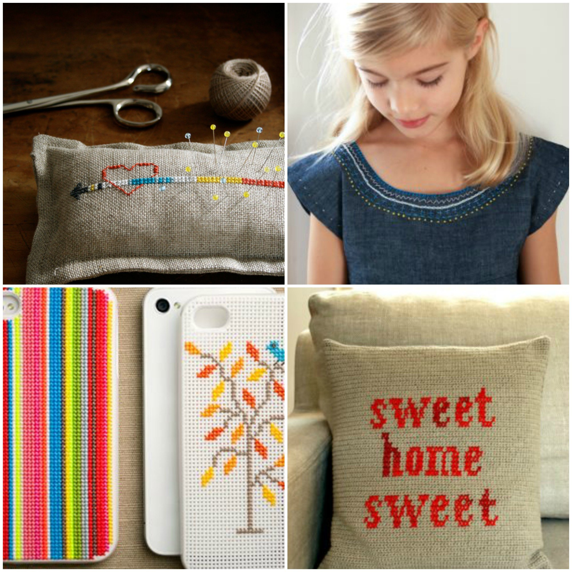 Loads of free patterns for knitting, sewing, crochet and embroidery
