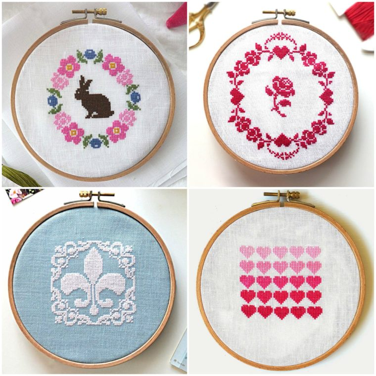 Adorable traditional cross stitch patterns for free download