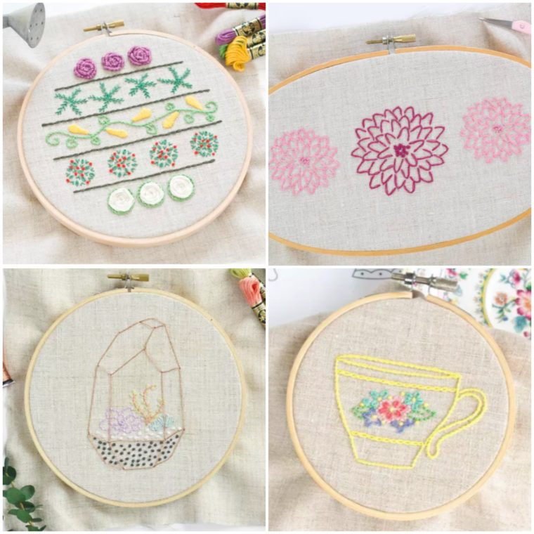 Adorable free embroidery patterns for download