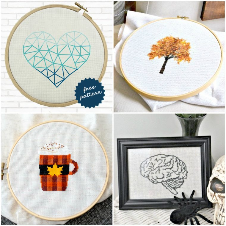 Pretty and free embroidery patterns for download