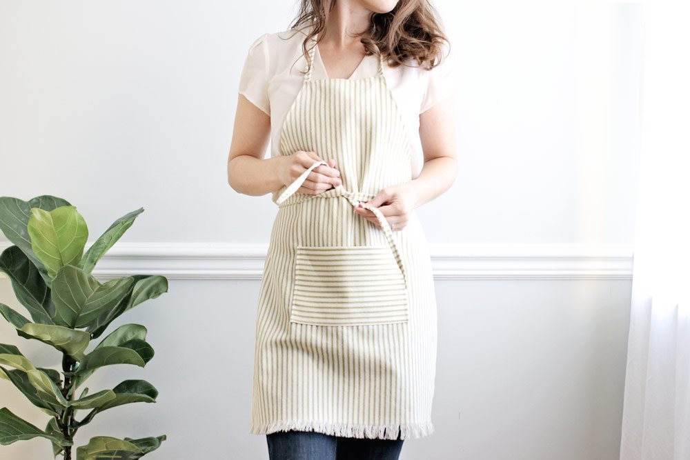 DIY Apron tutorial, Christmas gift ideas