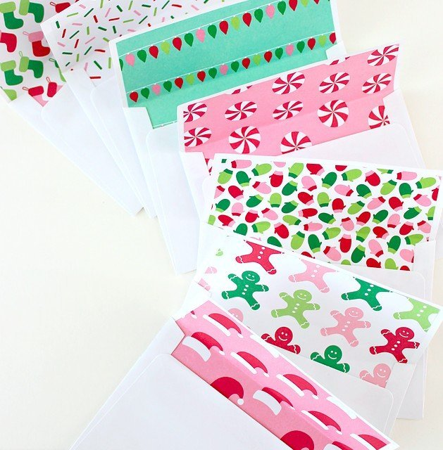 add some Christmas flair to your letter writing!