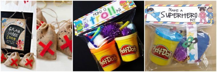 Party favour ideas for kids birthday