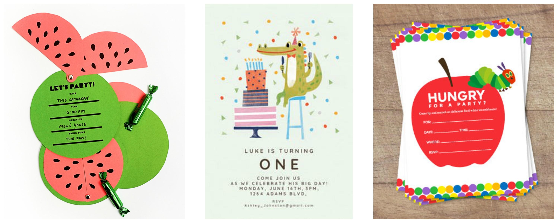 birthday party printable invitations