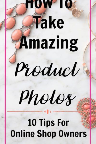 How to take product photos. How to create beautiful product photography for your online shop using only your phone and a few props. Product photography doesn't have to be complicated or expensive. Start with my top 10 tips for how to take amazing product photos! Draw customers into your shop with gorgeous images that really do justice to your products.