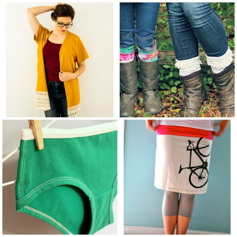 DIY Upcycled Clothing from repurposed t-shirts