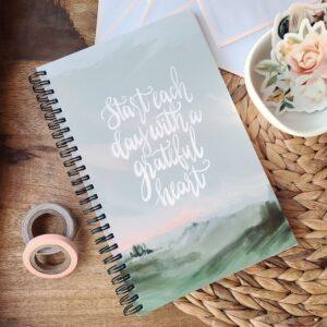 Gratitude journal for moms