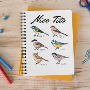 Fowl Language notebook for journaling moms