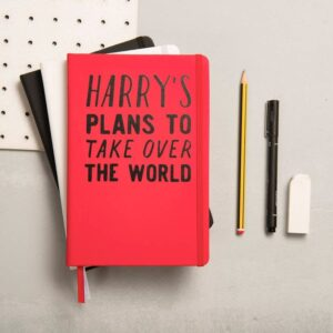 Personalized notebook for taking over the world