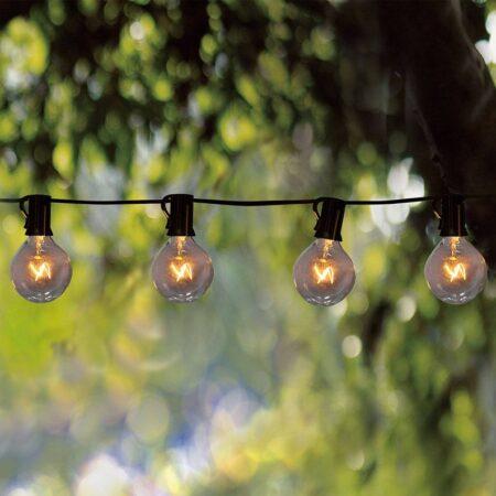 Cute outdoor string lights