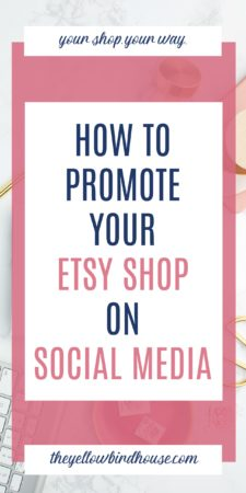 Learn how to promote your Etsy shop on social media and beyond. After you create listings for your awesome handmade items, the work is not done. You need to be taking advantage of every free marketing opportunity the internet has to offer. How to promote your Etsy shop without losing your mind!