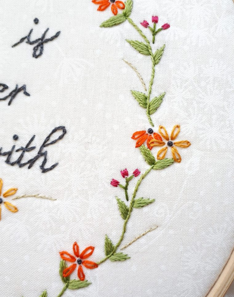 Embroidery file flowers in spring 10x10 flowers spring flowers early bloomer