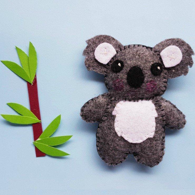 Koala stuffie tutorial