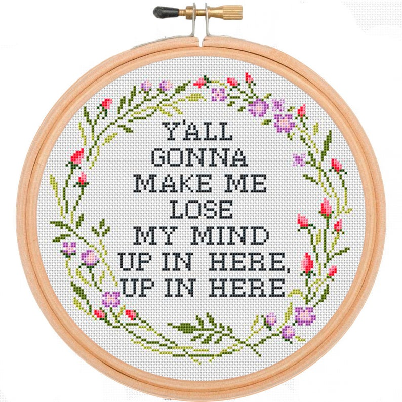 Embroidery quotes for moms