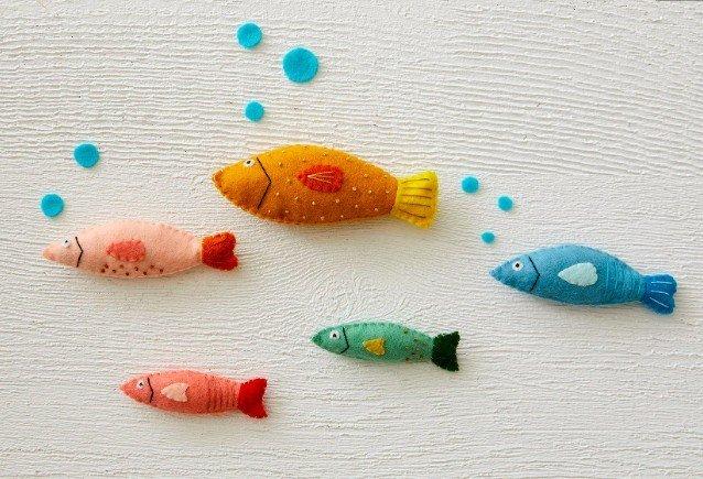 simple little fish DIY