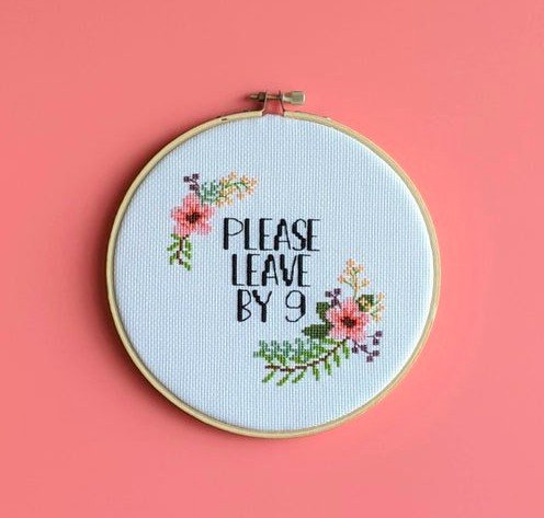 Sassy embroidery patterns to make for your home