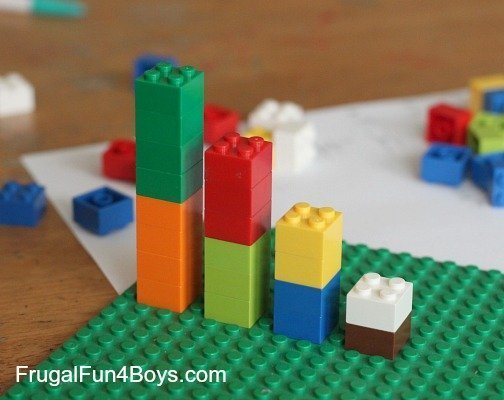 Learning fractions with Lego