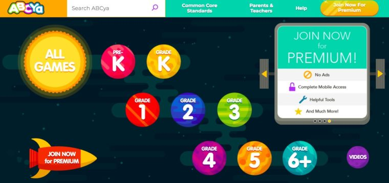 The best free educational websites for kids. Let them have so much fun playing games to learn math and language skills.