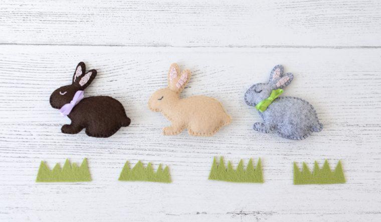 Little Felt Bunny free pattern