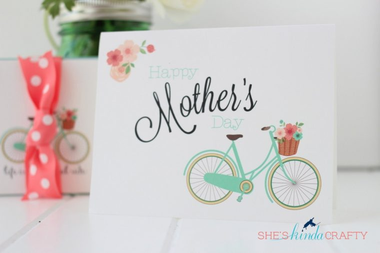 Free Mother's Day Card to Download and Print.