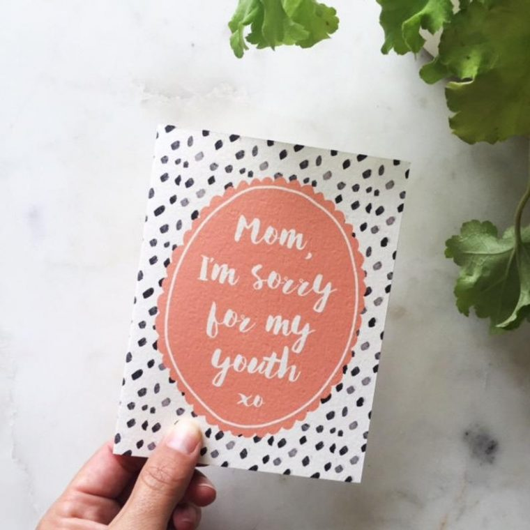 Funny Mother's Day cards. Printable cards for moms.