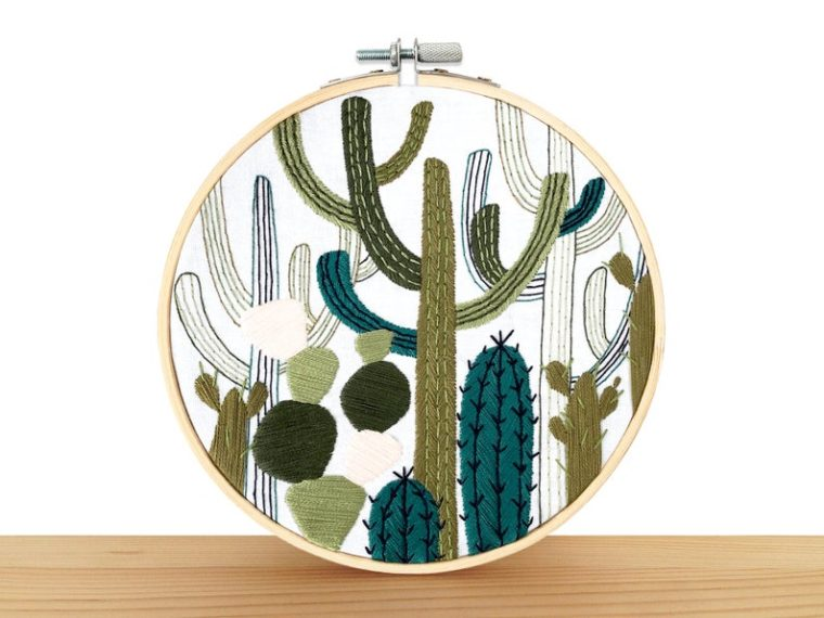 15 Beginner Embroidery Kits for Plant Lovers