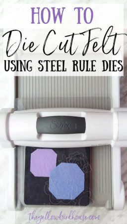 How to die cut felt using a die cutting machine and steel rule dies. Learn how to cut out complex shapes out of wool felt sheets, cleanly and crisply! Make fun things with felt with the help of a die cutter.