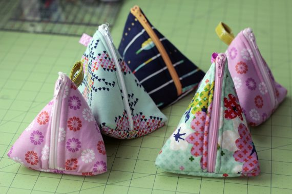 DIY Zipper pouch tutorials to sew