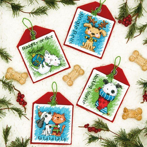 Cute Christmas cross stitch patterns