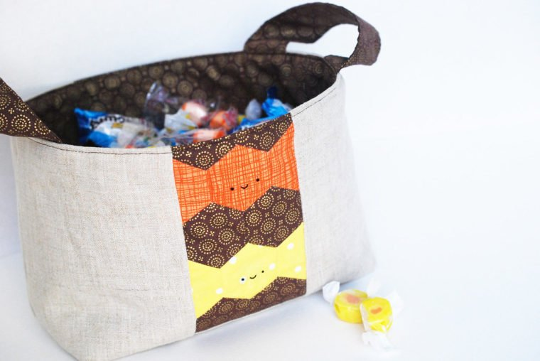 EPP Hexie candy tote bag