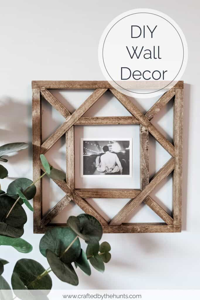 DIY Wooden wall decor. 25 christmas gift ideas to make