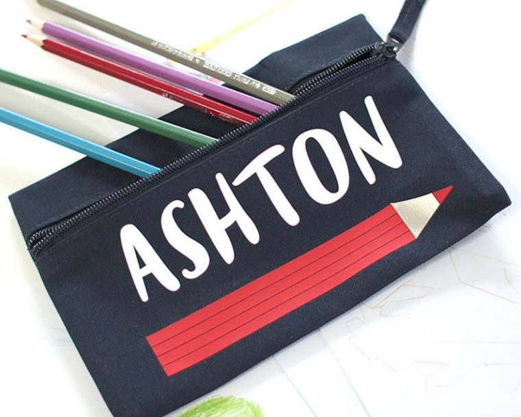 Personalized pencil case Christmas gifts under $10