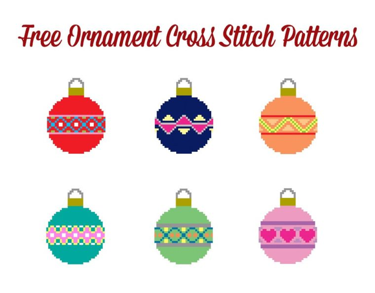 Free Ornament cross stitch patterns