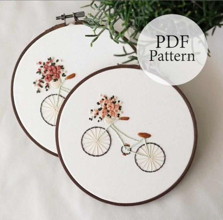 19 Floral Hand embroidery patterns to make this spring