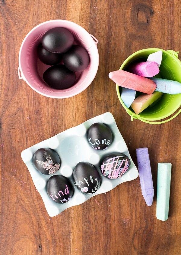 Chalkboard Easter egg tutorial.
