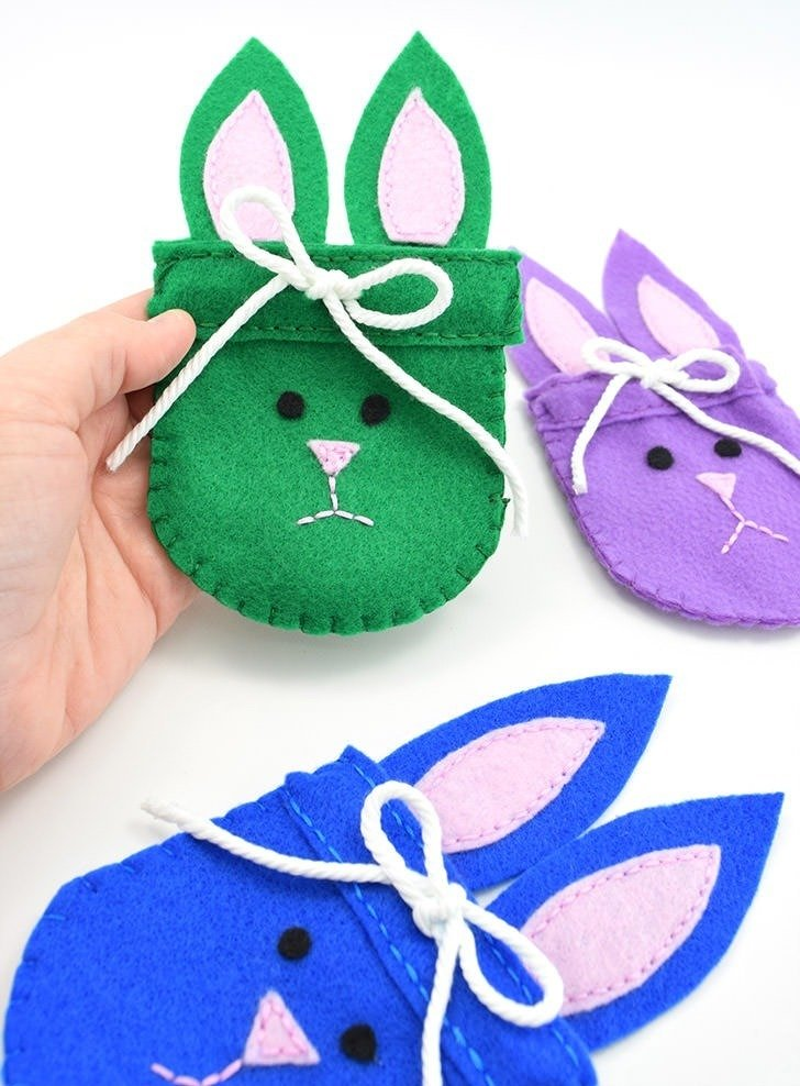 Cute DIY bunny crafts for kids. Easy Bunny projects to make for Easter