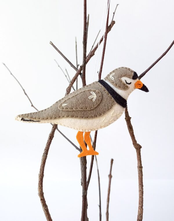 Felt Piping Plover sewing pattern