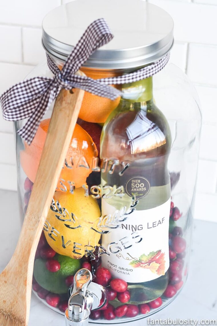 Give mom what she really wants for Mother's Day, a sangria kit!