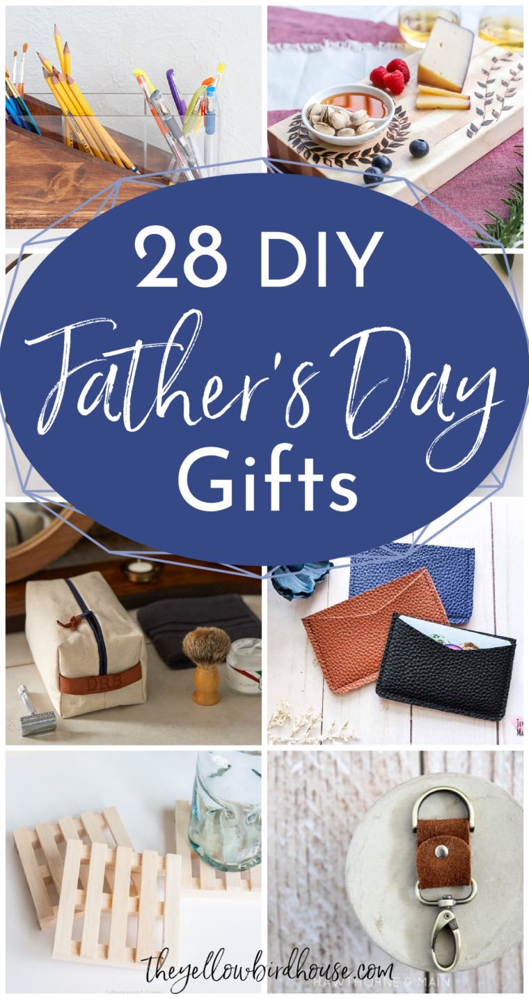28 Awesome last minute DIY Father's Day Gift Ideas. Homemade gifts for Dad that he's actually love. Creative DIY gifts to make for Father's Day. Last minute gift ideas to pull together and impress him. DIY gifts for men.